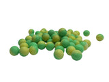.43 cal dust green/yellow (8000 ct bulk box)