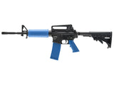 TM-4 Rifle - Blue/Blk 1 Mag + Spare Bolt Assembly