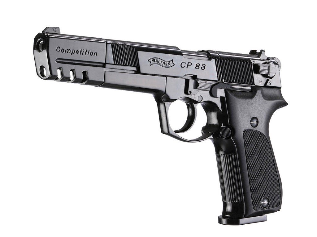 walther cp88 competition black rh umarexusa com  Walther CP88 Blued 6 Inch
