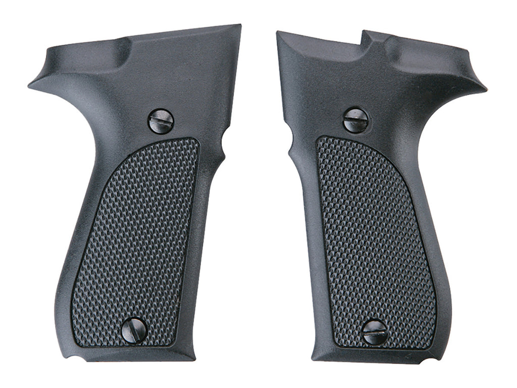 Walther CP88 Grips - Black Plastic