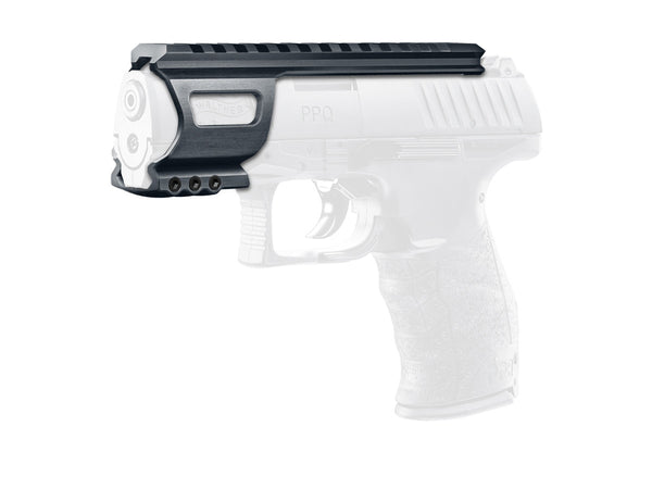 Walther PPQ - Full Metal Accessory Rail