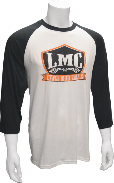 Lynch Mob Calls Two Tone Adult Baseball Tee