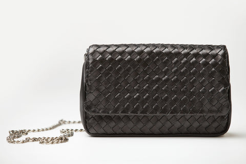 Chiara - black cross body shoulder bag - Appassionata Boutique