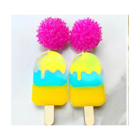 Popsicle Earrings