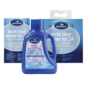 Arctic Blue® Winter Kit w/ Pool Closing Complete