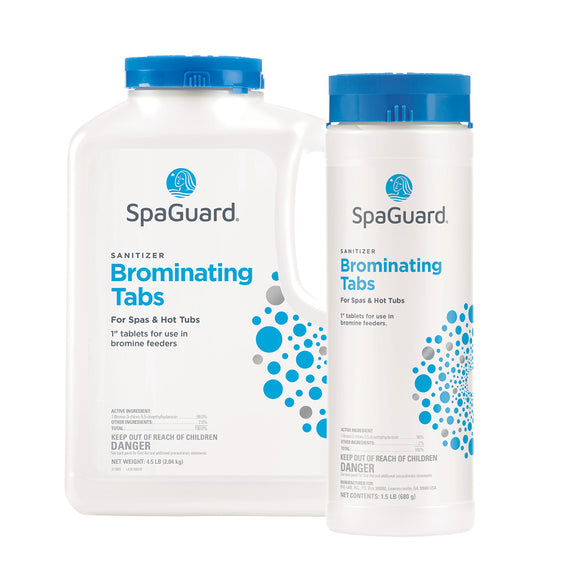 Brominating Tablets - Bromine sanitizer for hot tub floaters