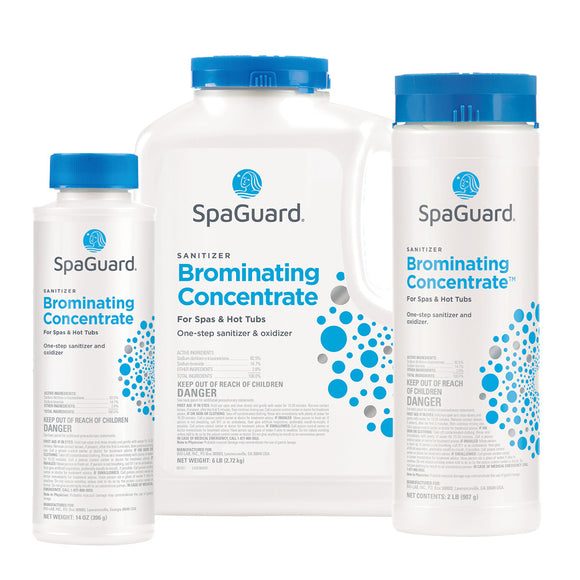 Brominating Concentrate - Bromine sanitizer for hot tubs