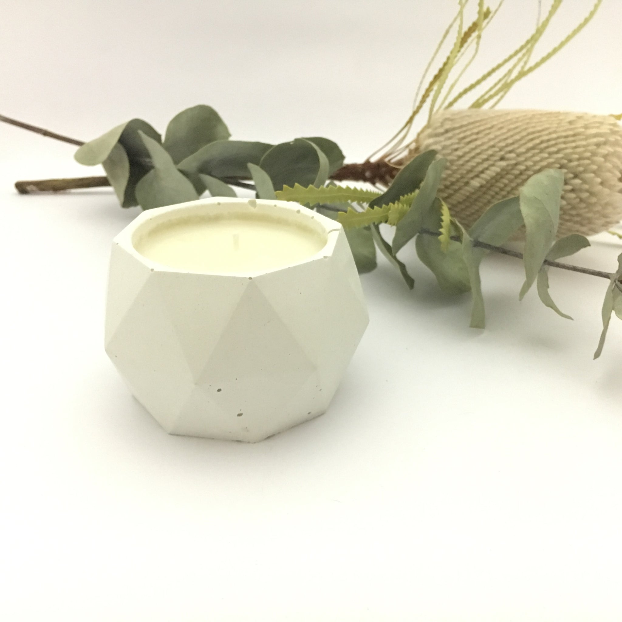ISO Concrete Soy Candle