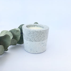 Granite Collection Concrete Soy Candle