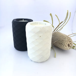 Prism Concrete Soy Candle