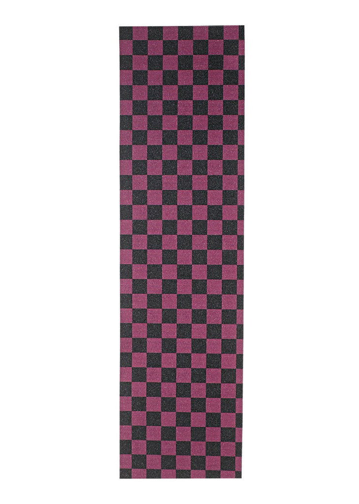 Purple & Black Checker Grip