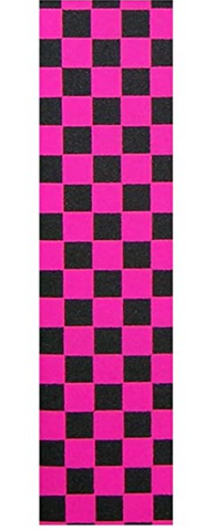 Black & Pink Checker Grip
