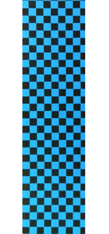Black & Blue Checker Grip