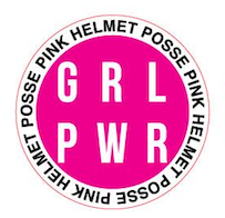 Girl Power Sticker White/Pink