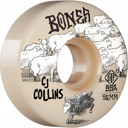 Copy of BONES WHEELS Black Sheep 52mm