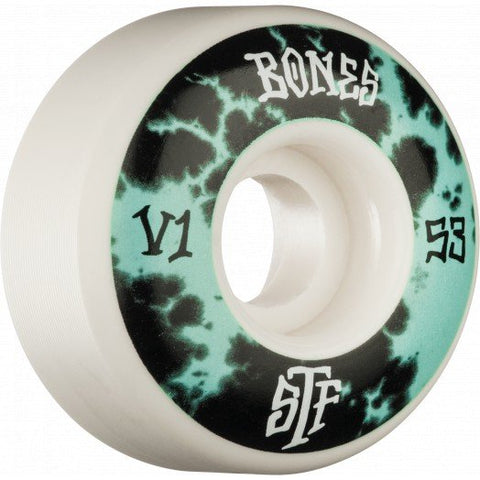 BONES WHEELS Dye Mint 53mm