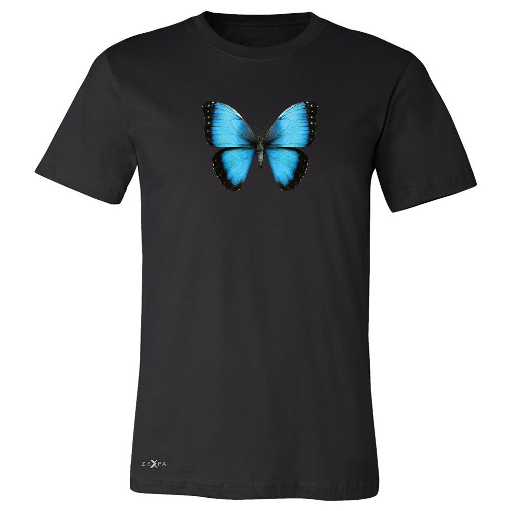 Real 3D Morpho Didius Butterfly Men's T-shirt Animal Cool Cute Tee - Zexpa Apparel - 1