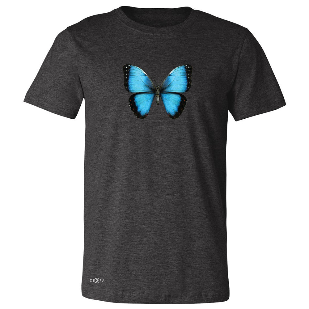 Real 3D Morpho Didius Butterfly Men's T-shirt Animal Cool Cute Tee - Zexpa Apparel - 2