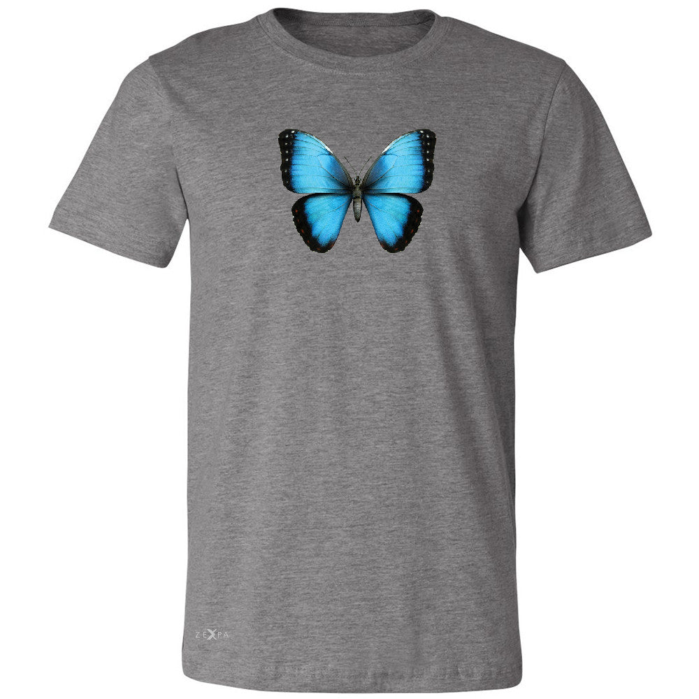 Real 3D Morpho Didius Butterfly Men's T-shirt Animal Cool Cute Tee - Zexpa Apparel - 3