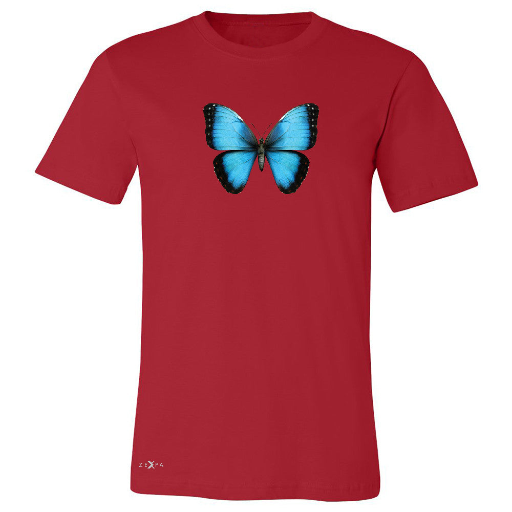 Real 3D Morpho Didius Butterfly Men's T-shirt Animal Cool Cute Tee - Zexpa Apparel - 5