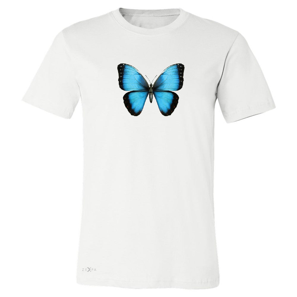 Real 3D Morpho Didius Butterfly Men's T-shirt Animal Cool Cute Tee - Zexpa Apparel - 6