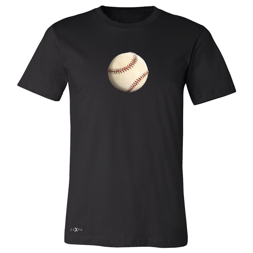 Real 3D Baseball Ball Men's T-shirt Baseball Cool Embossed Tee - Zexpa Apparel - 1