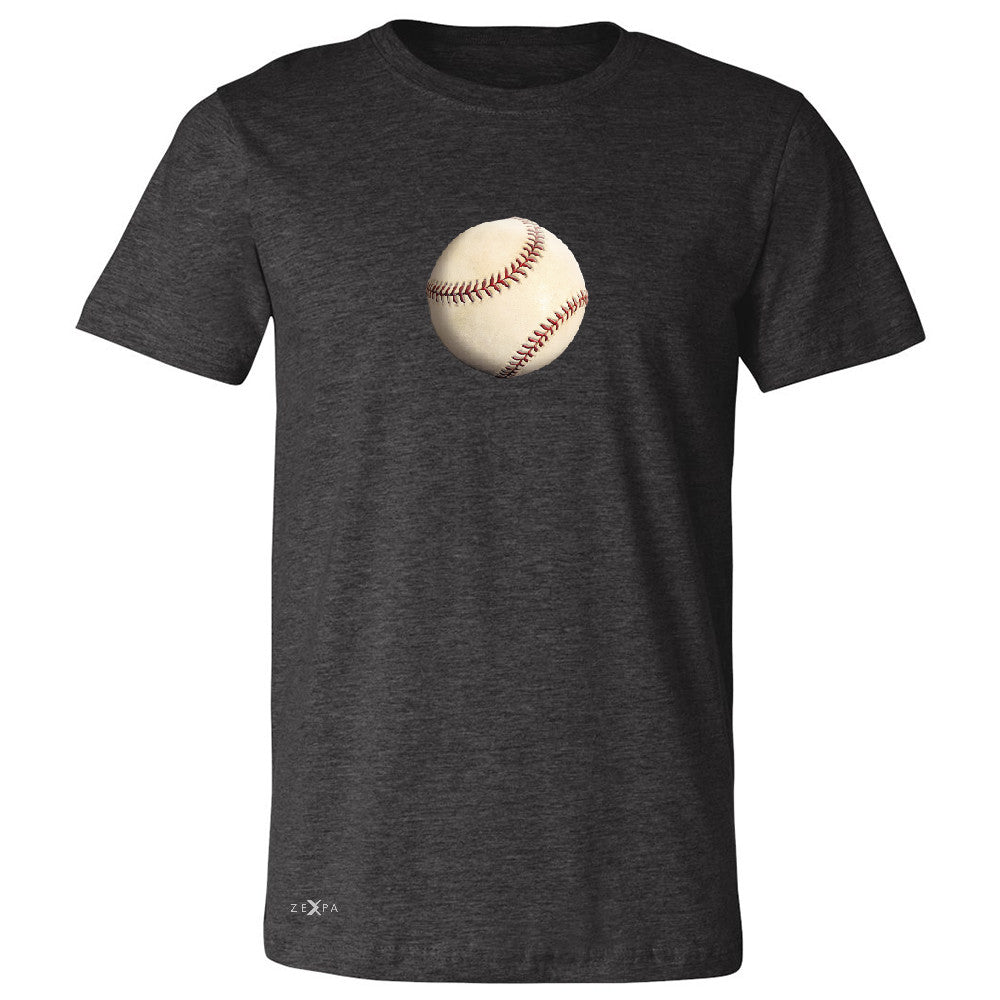 Real 3D Baseball Ball Men's T-shirt Baseball Cool Embossed Tee - Zexpa Apparel - 2