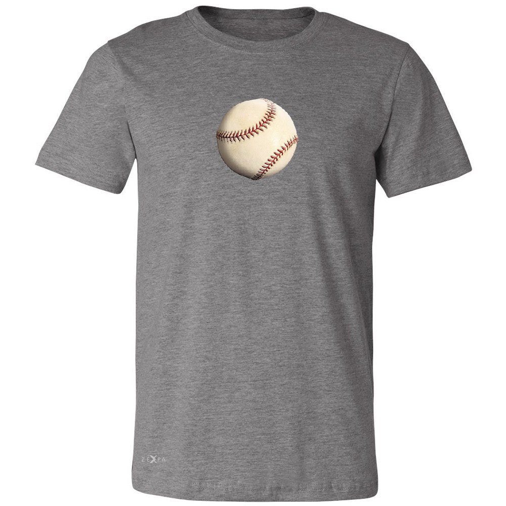 Real 3D Baseball Ball Men's T-shirt Baseball Cool Embossed Tee - Zexpa Apparel - 3