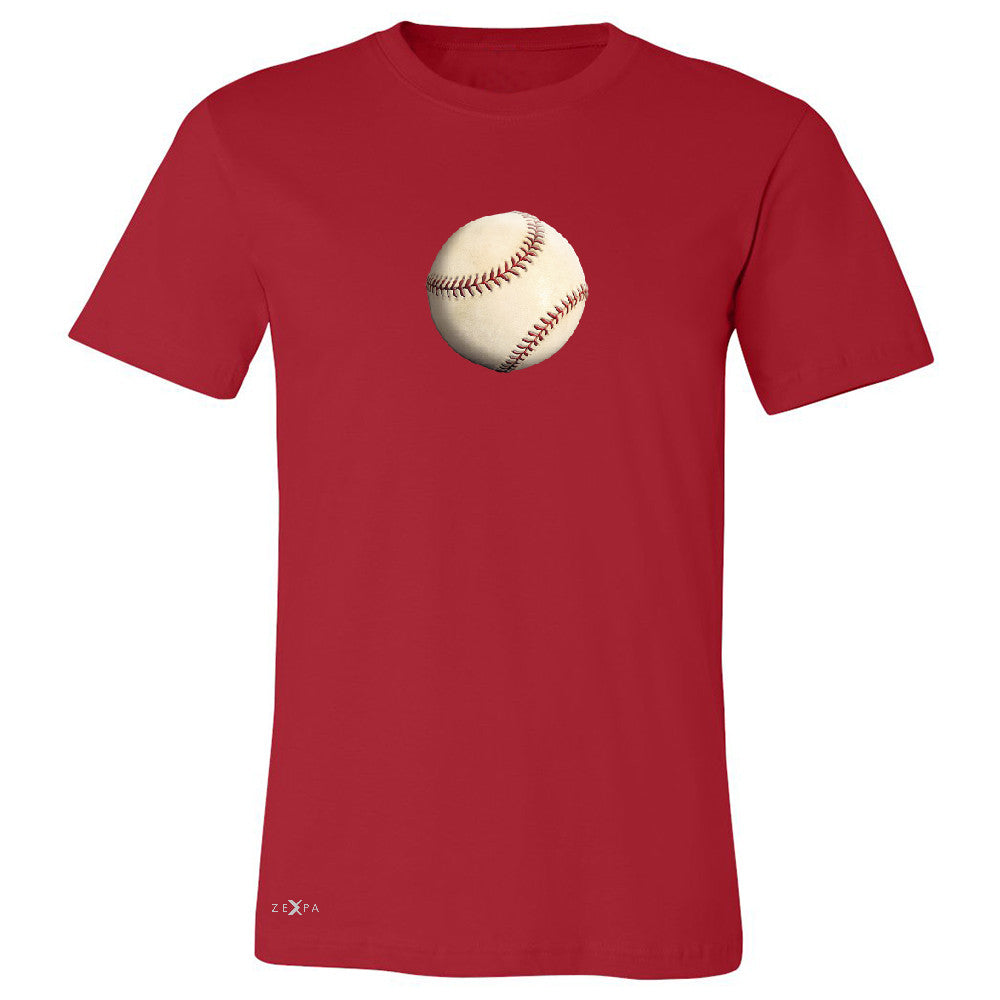 Real 3D Baseball Ball Men's T-shirt Baseball Cool Embossed Tee - Zexpa Apparel - 5