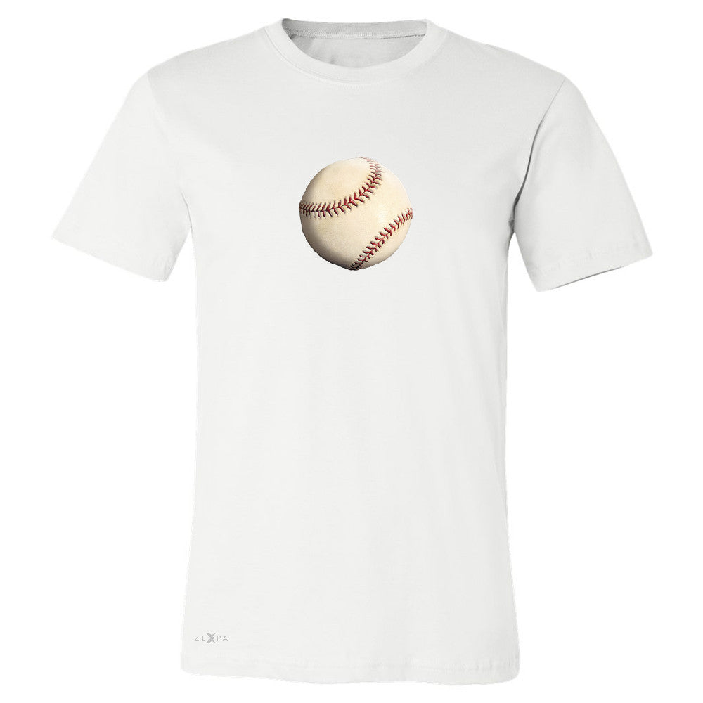 Real 3D Baseball Ball Men's T-shirt Baseball Cool Embossed Tee - Zexpa Apparel - 6