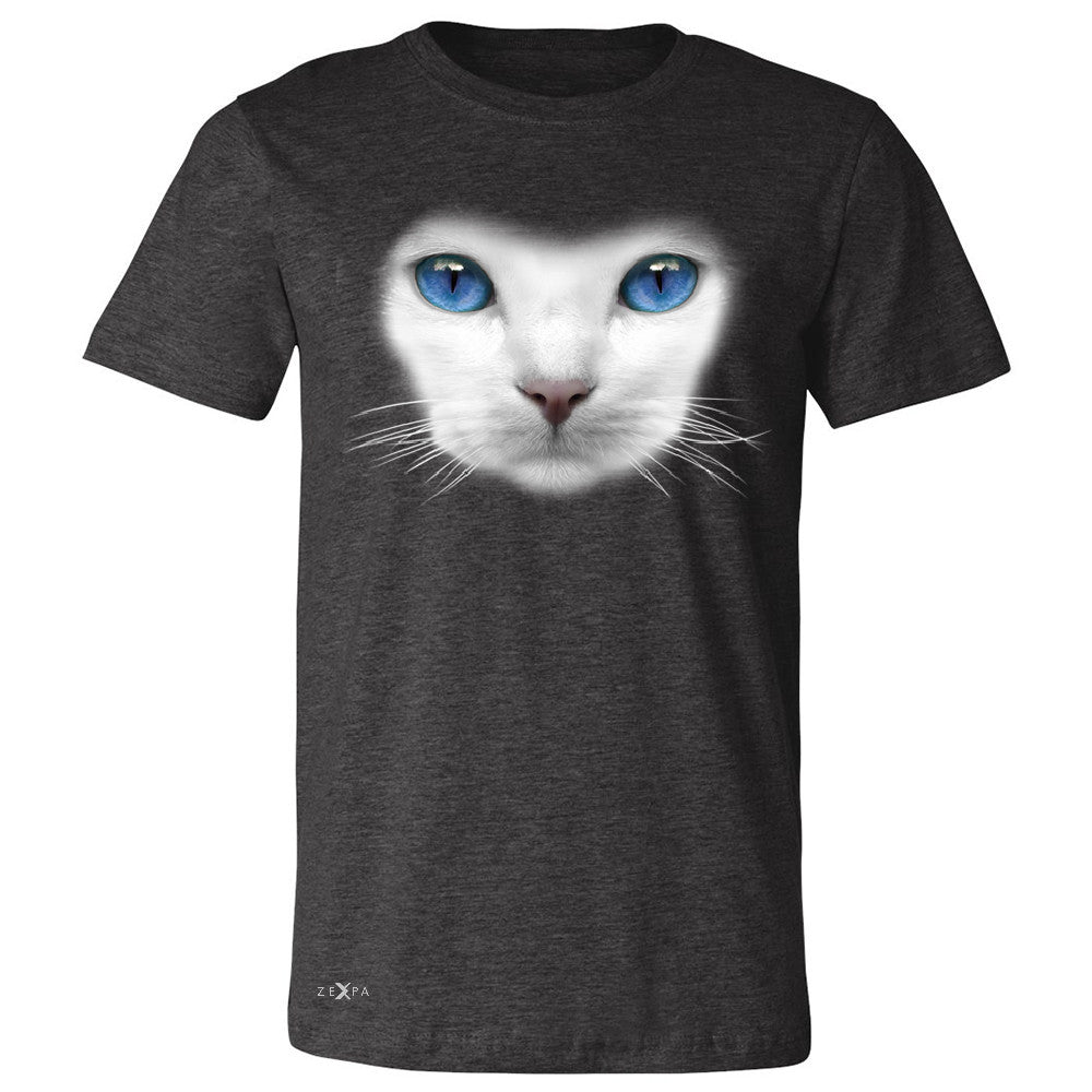 Elegant Cat with Blue Eyes Men's T-shirt Beautiful Look Tee - Zexpa Apparel - 2