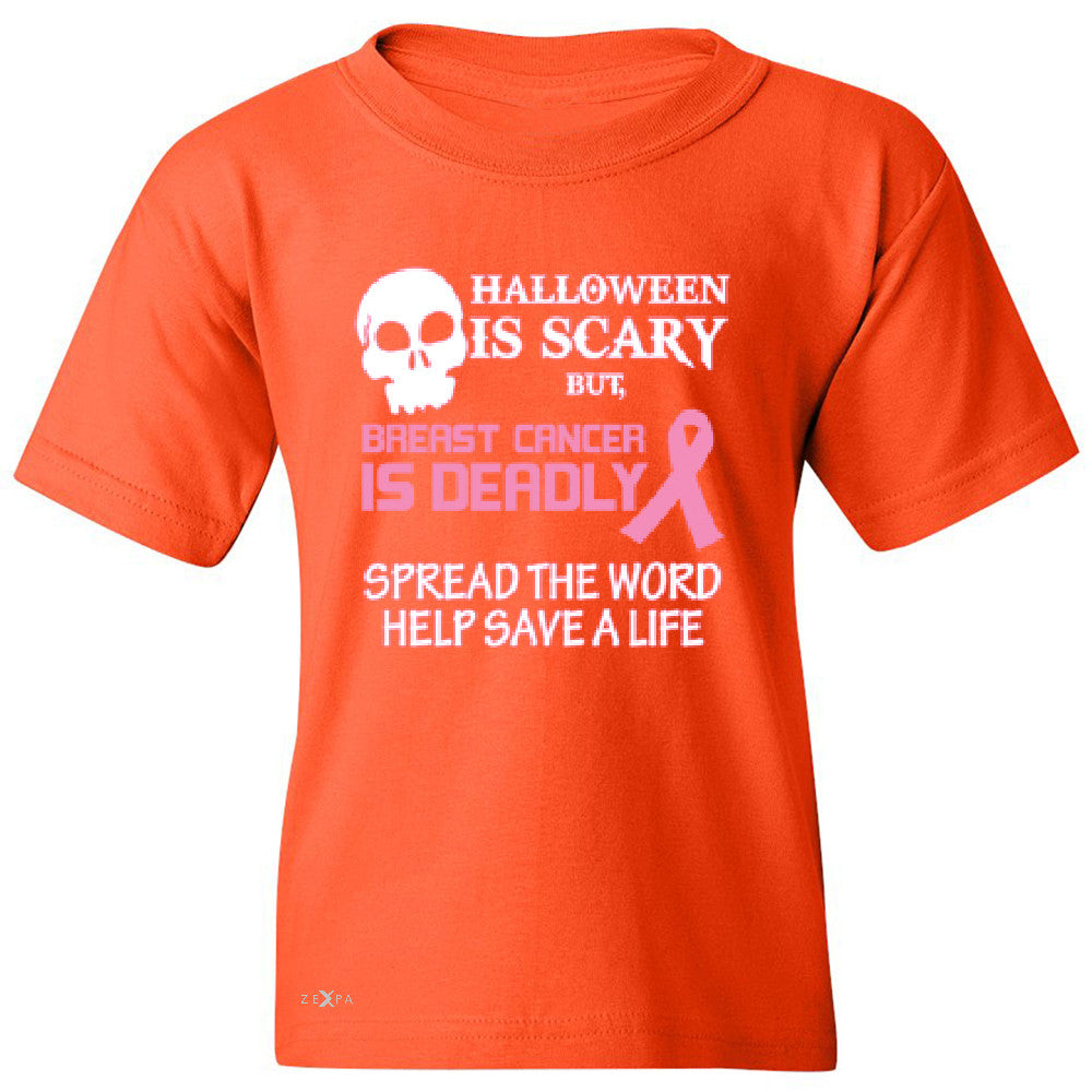 Halloween is Scary but Beast is Cancer Deadly Youth T-shirt   Tee - Zexpa Apparel - 2