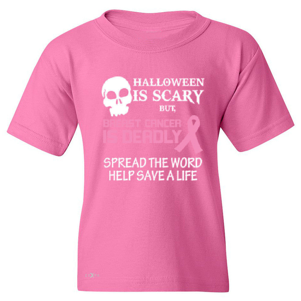 Halloween is Scary but Beast is Cancer Deadly Youth T-shirt   Tee - Zexpa Apparel - 3
