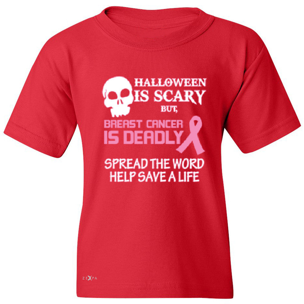 Halloween is Scary but Beast is Cancer Deadly Youth T-shirt   Tee - Zexpa Apparel - 4