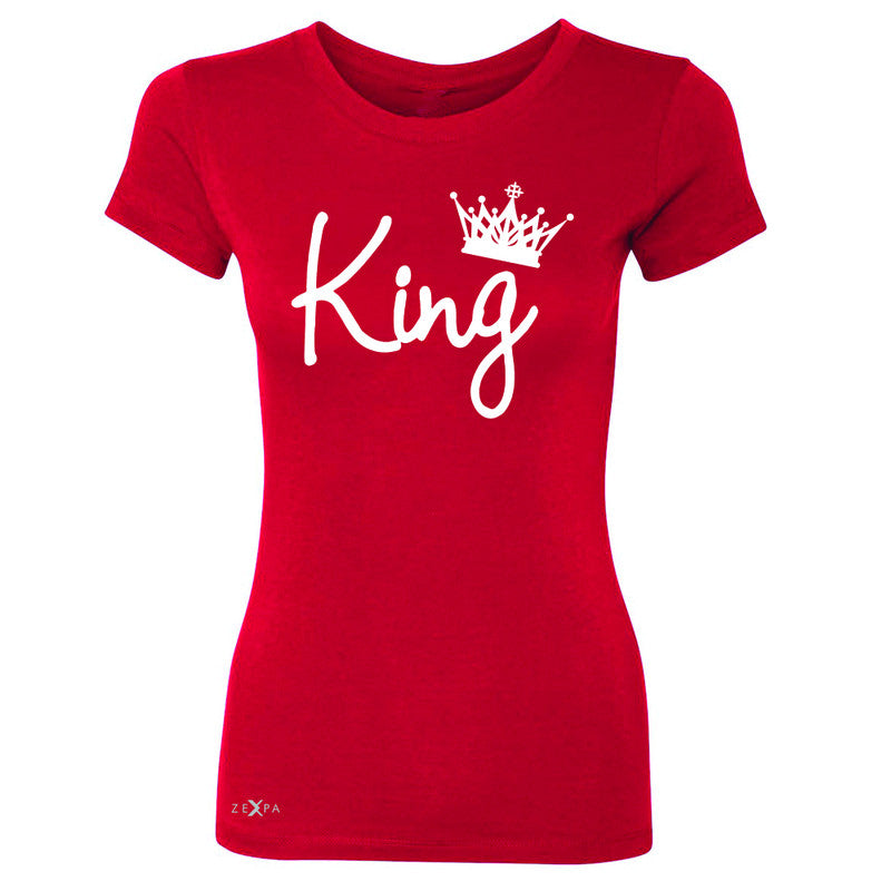 King - He is my King Women's T-shirt Couple Matching Valentines Tee - Zexpa Apparel - 4