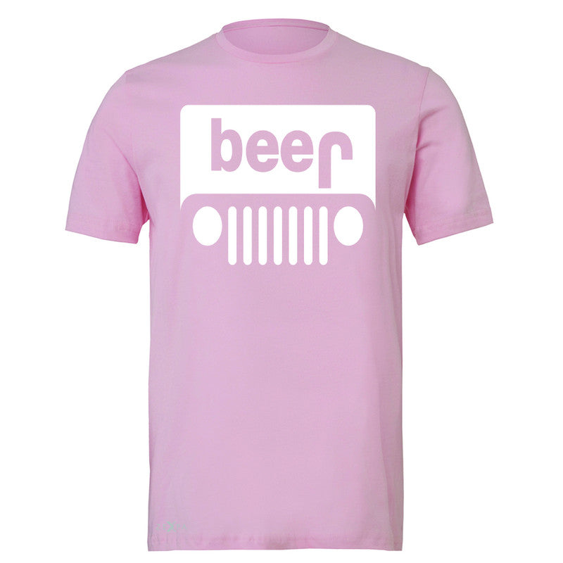 Beer Jeep Funny  Men's T-shirt Drinking Off-Road Party Alcohol Tee - Zexpa Apparel Halloween Christmas Shirts