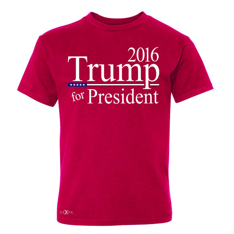 Trump for President 2016 Campaign Youth T-shirt Politics Tee - Zexpa Apparel - 4