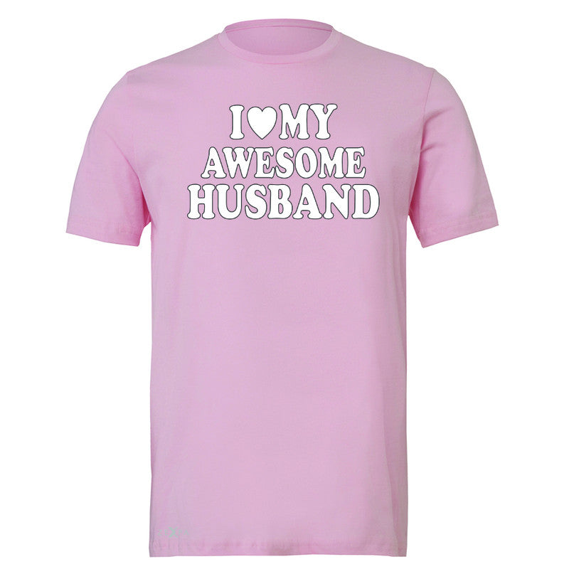 I Love My Awesome Husband Men's T-shirt Couple Matching Feb 14 Tee - Zexpa Apparel - 4