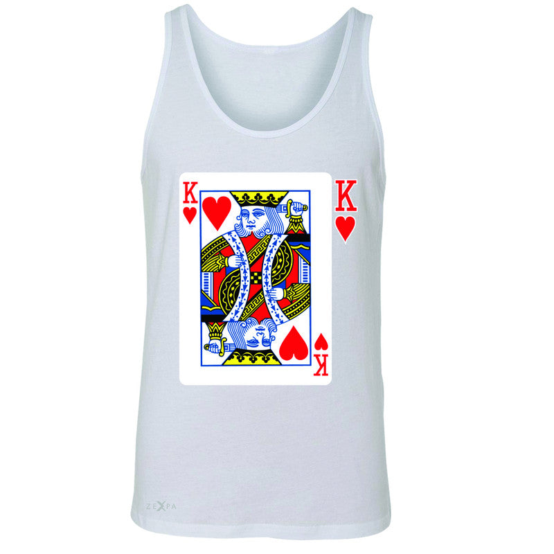 Playing Cards King Men's Jersey Tank Couple Matching Deck Feb 14 Sleeveless - Zexpa Apparel - 5