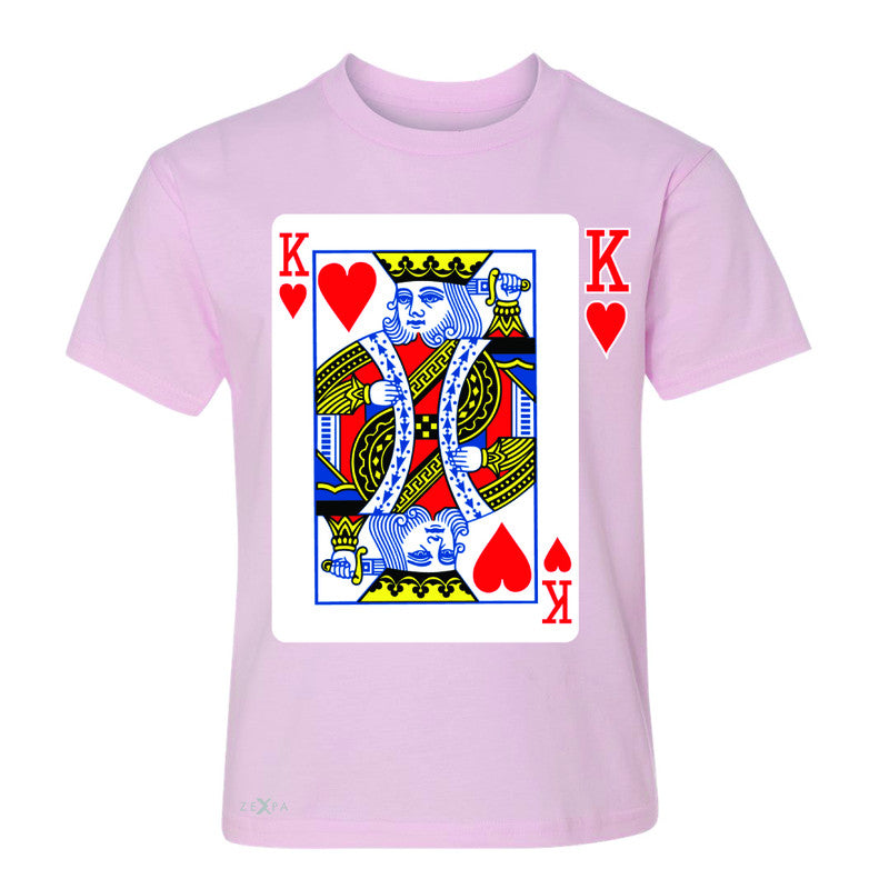 Playing Cards King Youth T-shirt Couple Matching Deck Feb 14 Tee - Zexpa Apparel - 3