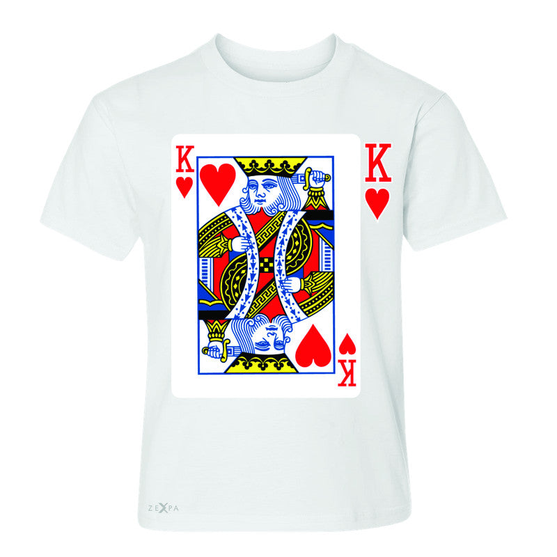 Playing Cards King Youth T-shirt Couple Matching Deck Feb 14 Tee - Zexpa Apparel - 5
