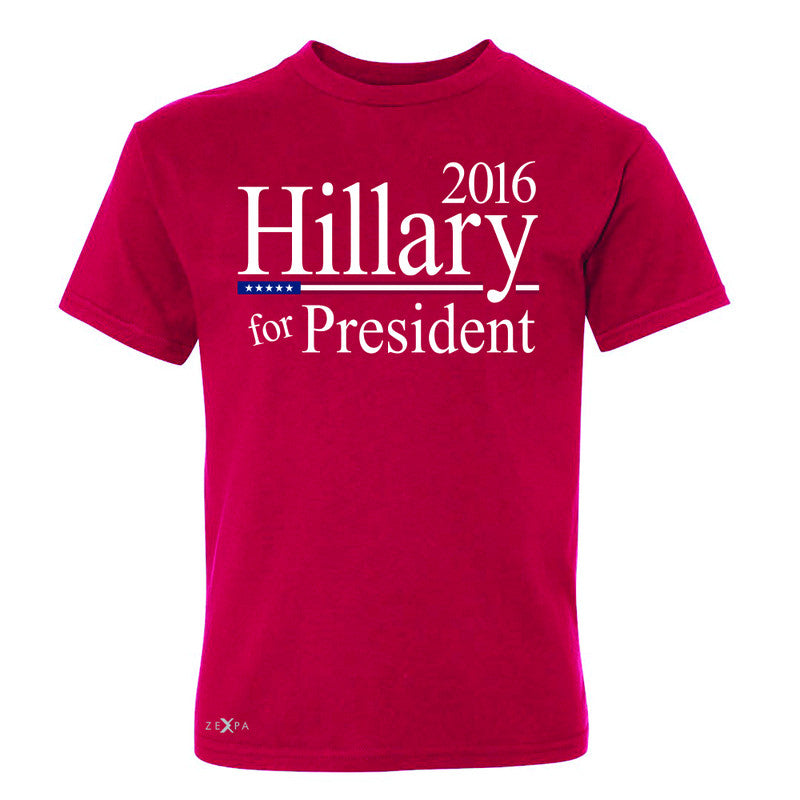 Hillary  for President 2016 Campaign Youth T-shirt Politics Tee - Zexpa Apparel - 4