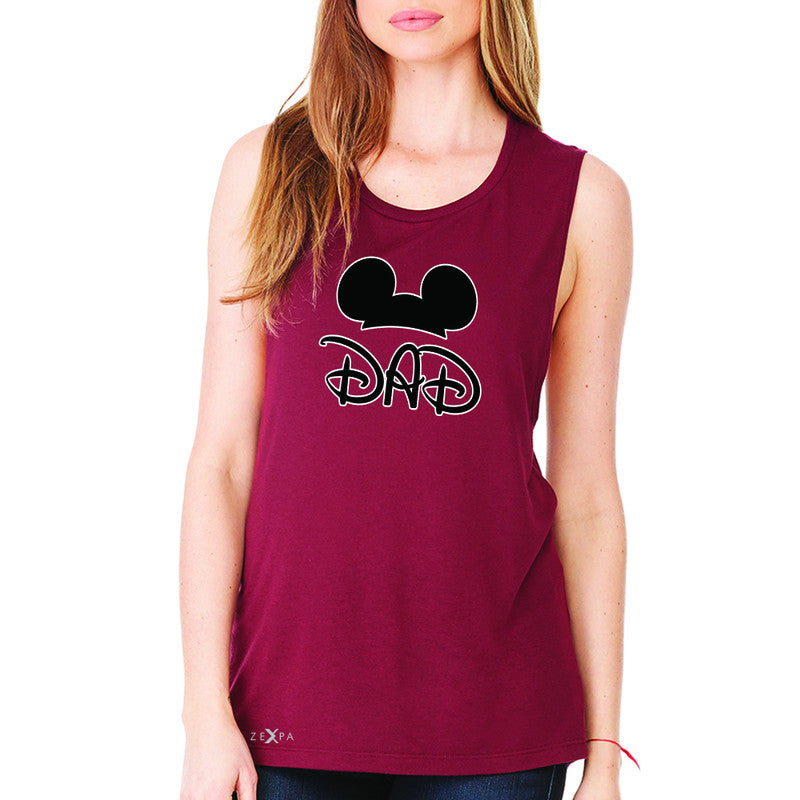 Dad Family Funny  Summer Trip   Women's Muscle Tee Couple Matching Sleeveless - Zexpa Apparel Halloween Christmas Shirts