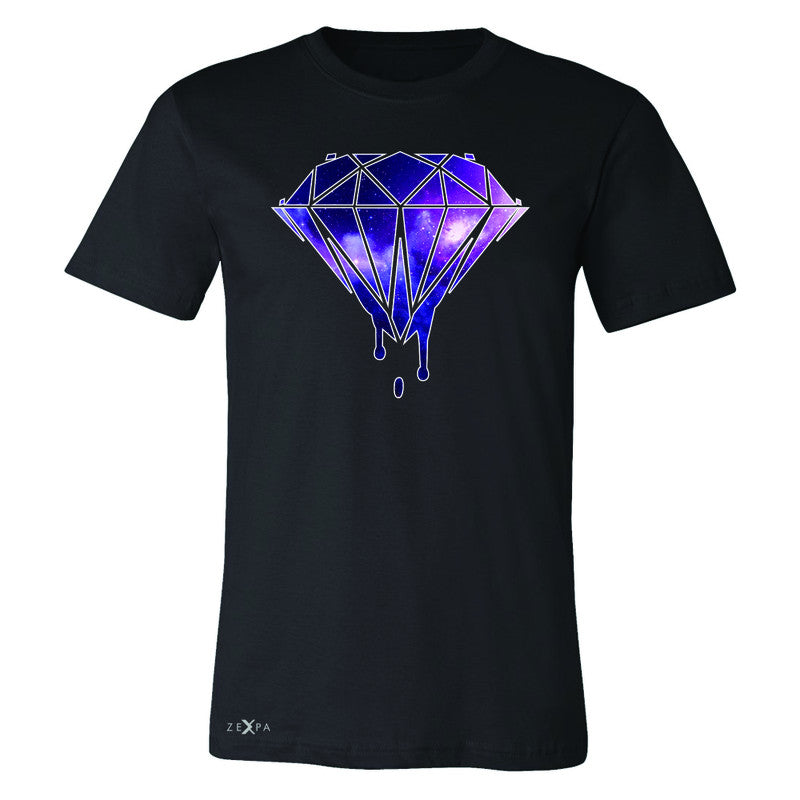 Galaxy Diamond Bleeding Dripping Men's T-shirt Cool Design Tee - Zexpa Apparel - 1