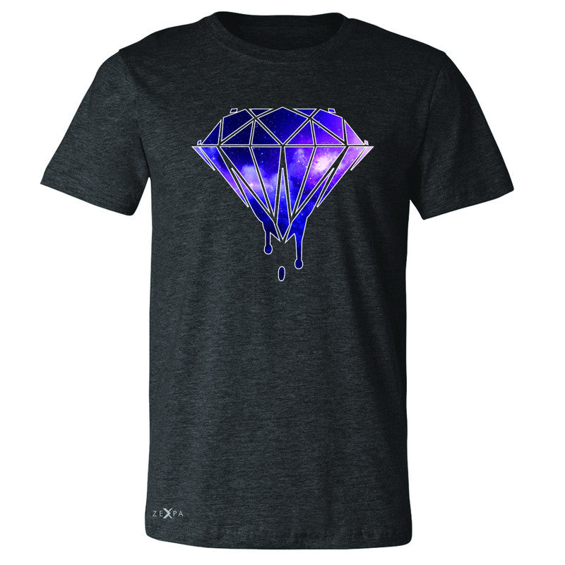 Galaxy Diamond Bleeding Dripping Men's T-shirt Cool Design Tee - Zexpa Apparel - 2