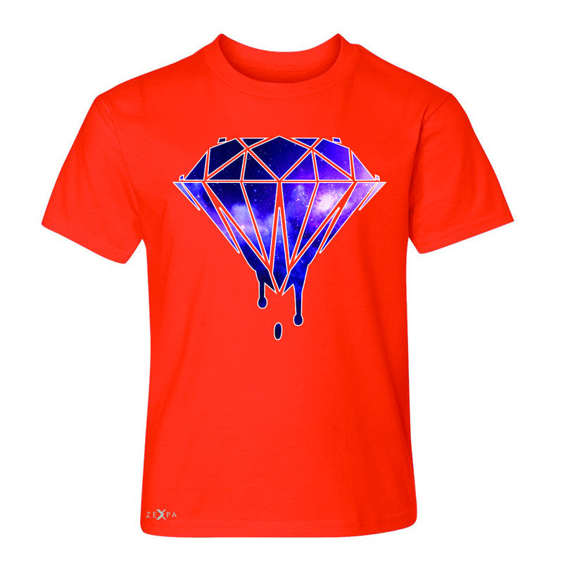Galaxy Diamond Bleeding Dripping Youth T-shirt Cool Design Tee - Zexpa Apparel - 2