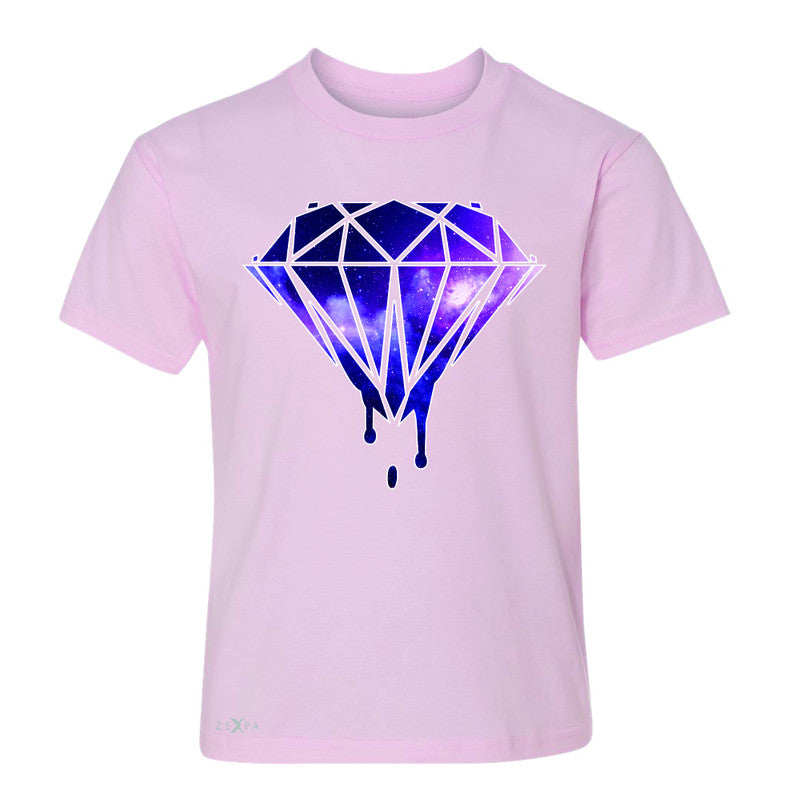 Galaxy Diamond Bleeding Dripping Youth T-shirt Cool Design Tee - Zexpa Apparel - 3