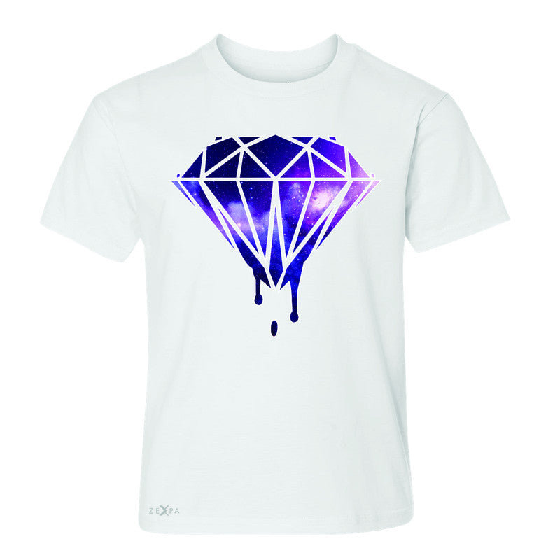Galaxy Diamond Bleeding Dripping Youth T-shirt Cool Design Tee - Zexpa Apparel - 5