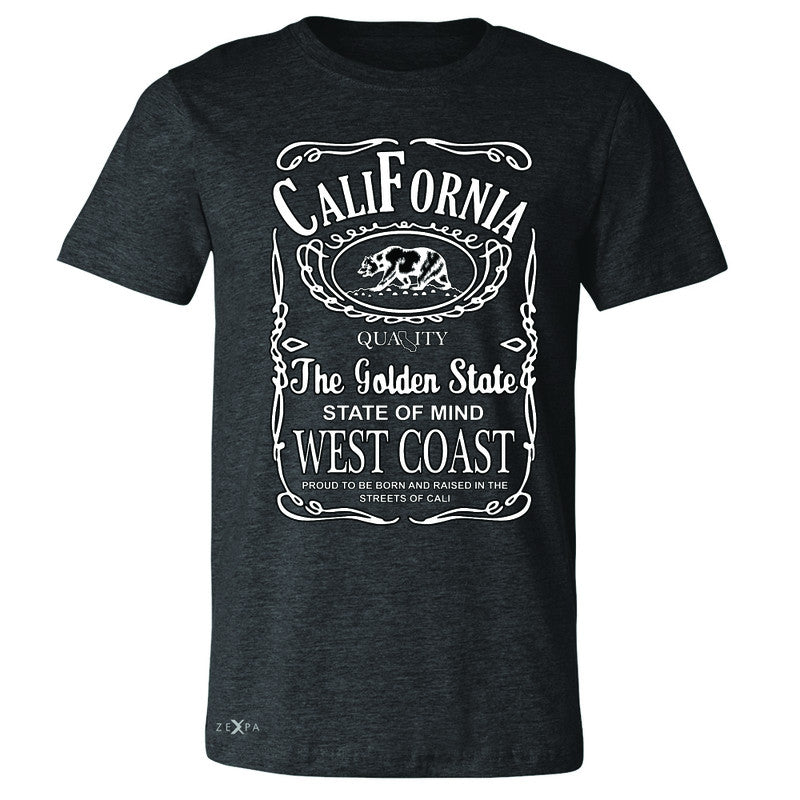 California West Coast Bear Men's T-shirt The Golden State CA Tee - Zexpa Apparel Halloween Christmas Shirts
