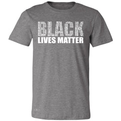Black Lives Matter Men's T-shirt Freedom Civil Rights Political Tee - Zexpa Apparel Halloween Christmas Shirts
